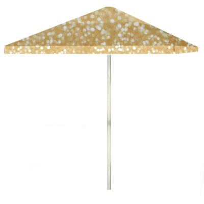 8 Glitter Me Gold Square Market Umbrella