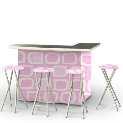 Its A Girl Bar Set Finish: Pink