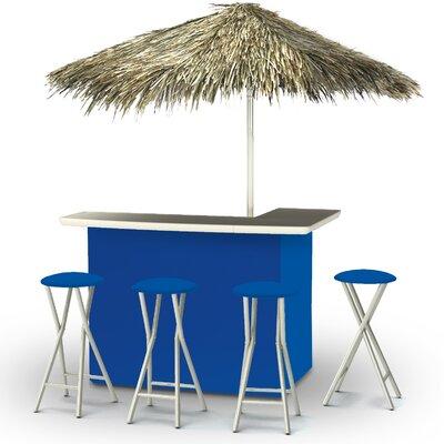 Tiki Bar Set Finish: Blue