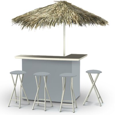 Tiki Bar Set Finish: Gray