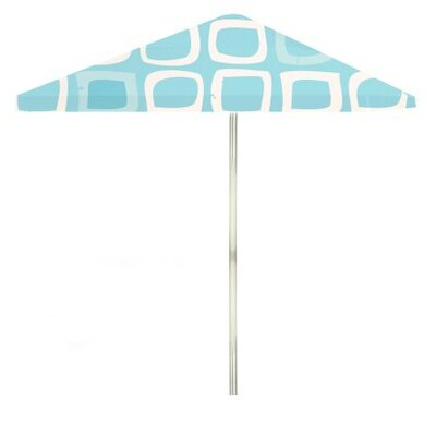 8 Its A Girl Square Market Umbrella Color: Blue