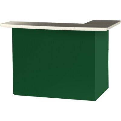 Patio Bar Color: Green