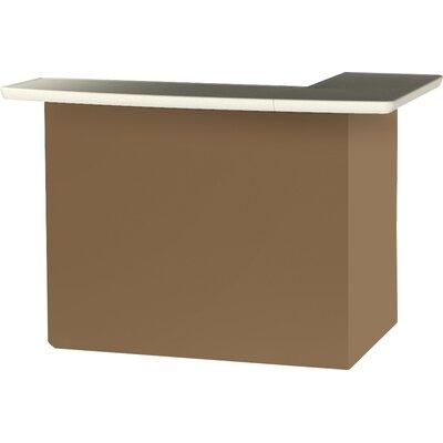 Patio Bar Color: Light Brown