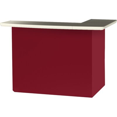 Patio Bar Color: Burgundy