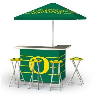 5 Piece University Of Oregon Bar Set