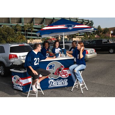 Best of Times NFL Deluxe Portable Bar - NFL Team: New England Patriots at Sears.com