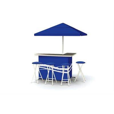 Classic Bar Set Finish: Blue