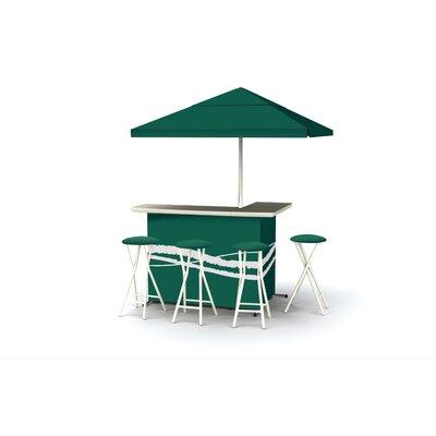 Classic Bar Set Finish: Green