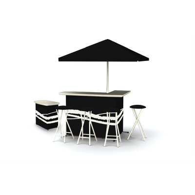 539 10 Best Of Times Deluxe Portable Bar Set With