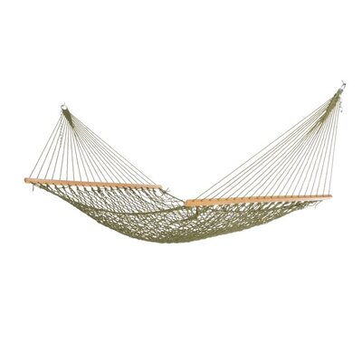 Cotton Tree Hammock Color: Olive