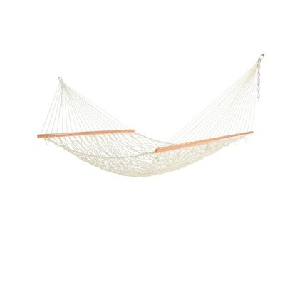 Cotton Tree Hammock Color: White