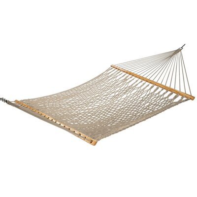 Cotton Tree Hammock Color: White Yellow