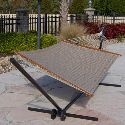 Large Quilted Hammock Color: Houndstooth