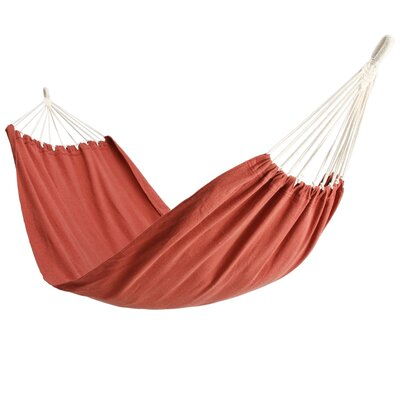 Polyester Camping Hammock Color: Burnt Red