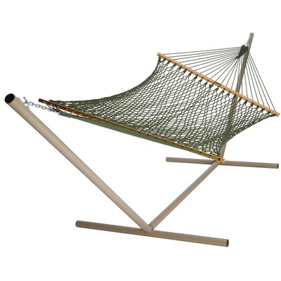 Polyester Hammock Color: Meadow Green