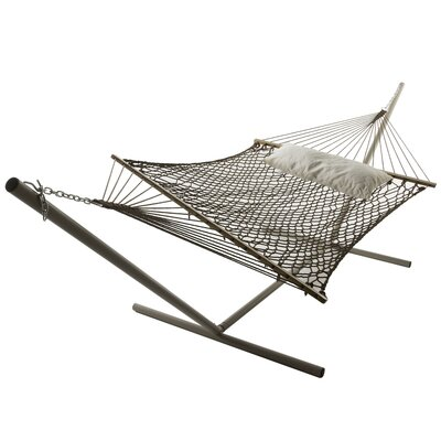 Polyester Hammock Color: Antique Brown