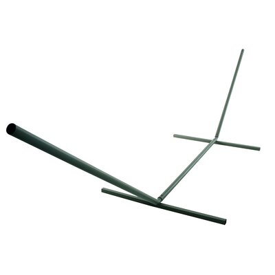 Large Steel Hammock Stand Color: Green