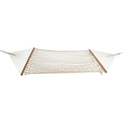 Cotton Rope Tree Hammock Size: Single