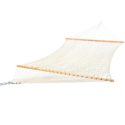 Deluxe Cotton Rope Tree Hammock