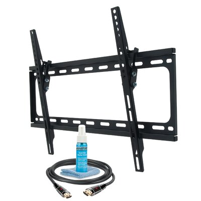 Monster Mounts Large Tilt Wall Mount Kit for 42 - 75 Flat Panel Screens