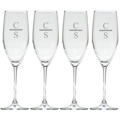 Personalized Champagne Flute GS-CF8SF-PM