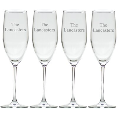 Personalized Champagne Flute GS-CF8SF-PN