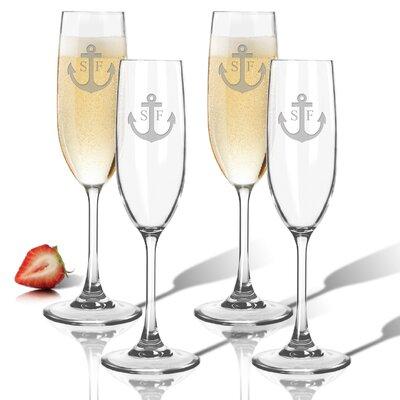 Personalized Tritan 6.5 Oz. Champagne Flute ACL-TFLT65S4-PM-ANC