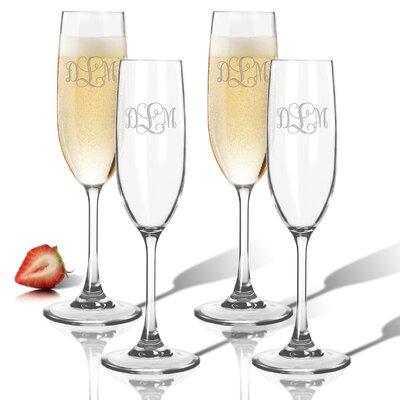 Personalized Tritan 6.5 Oz. Champagne Flute ACL-TFLT65S4-PM-VIN