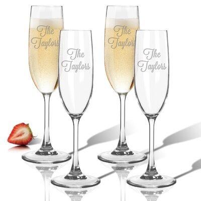 Personalized Tritan 6.5 Oz. Champagne Flute ACL-TFLT65S4-PN-LAV