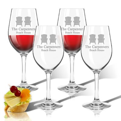 Personalized Tritan 12 oz. All Purpose Wine Glass ACL-TWS12S4-pd-adirondackchairs