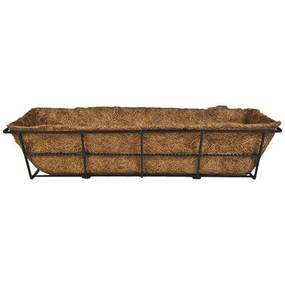 Canterbury Steel Rail Planter DPBCB24-B