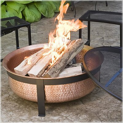 Cobraco Copper Wood Burning Fire Pit