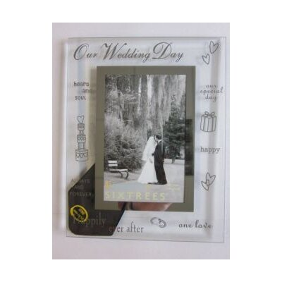 moments-bevelled-glass-on-our-wedding-day-photo-frame