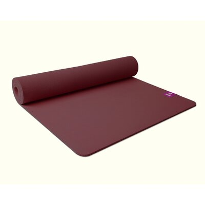 Easy financing Unheated Yoga Mat Color: Plum Puddi...