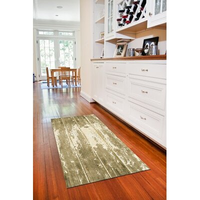 Fo Flor Barnboard Doormat Rug Size: 25 x 60