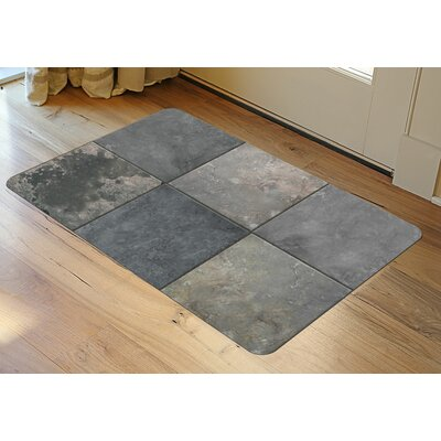 Fo Flor Clean Slate Doormat Rug Size: 23 x 36, Color: Cool