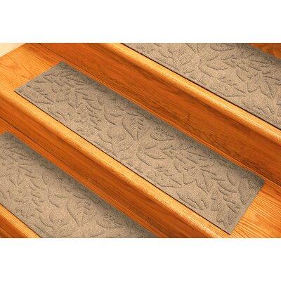 Aqua Shield Medium Brown Fall Day Stair Tread