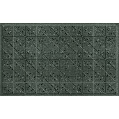 Aqua Shield Evergreen Star Quilt Mat Size: 3 x 5