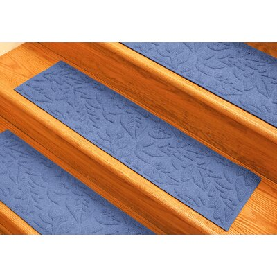 Aqua Shield Medium Blue Fall Day Stair Tread