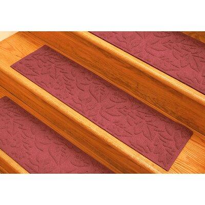 Aqua Shield Solid Red Fall Day Stair Tread