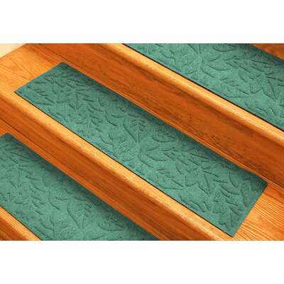 Aqua Shield Aquamarine Fall Day Stair Tread