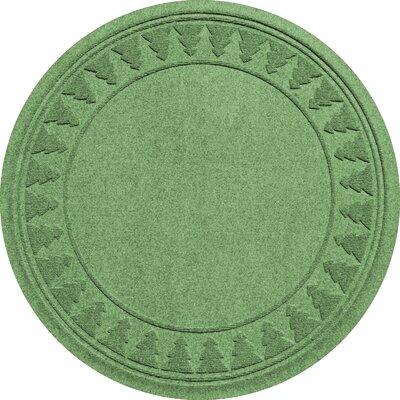 Aqua Shield Tree Skirt Doormat Color: Light Green