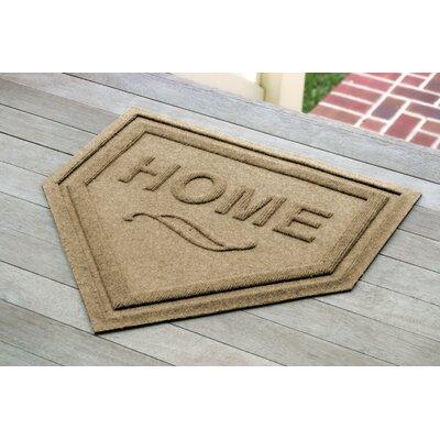 Engelmann Home Plate Doormat Color: Camel