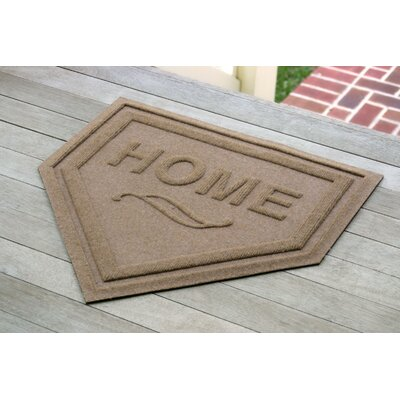 Engelmann Home Plate Doormat Color: Medium Brown