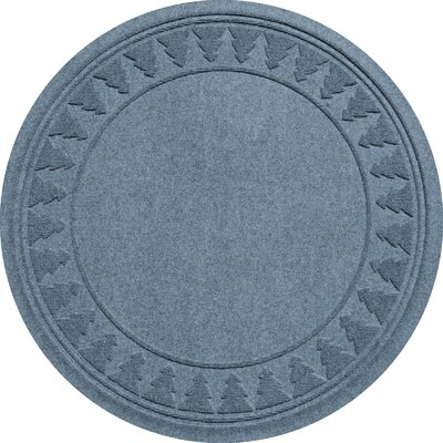 Aqua Shield Tree Skirt Doormat Color: Bluestone