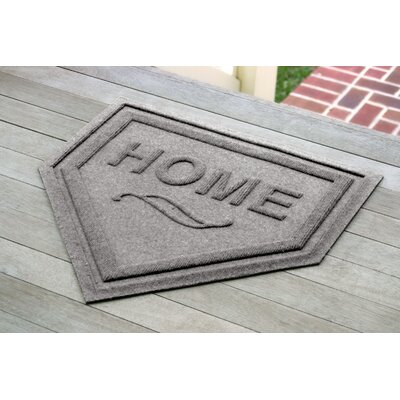 Engelmann Home Plate Doormat Color: Medium Gray