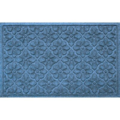 Conway Medallion Doormat Color: Bluestone