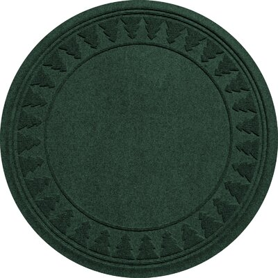 Aqua Shield Tree Skirt Doormat Color: Evergreen