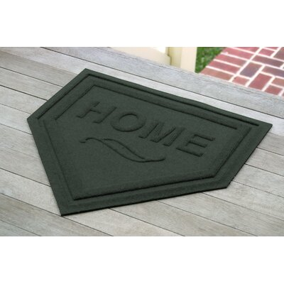 Engelmann Home Plate Doormat Color: Evergreen