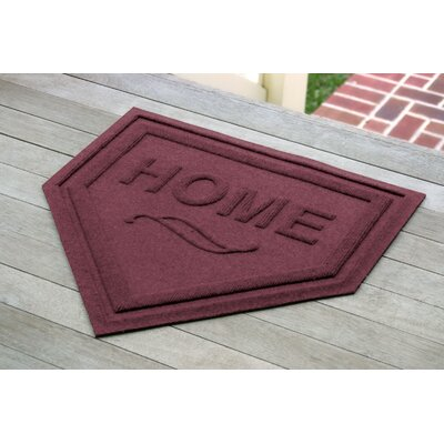 Engelmann Home Plate Doormat Color: Bordeaux